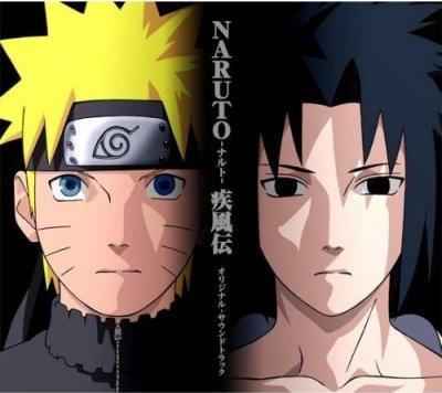 Naruto Uzumaki (shippuuden) fond d'écran titled Naruot VS sasuke