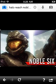 Noble Six - halo-reach photo
