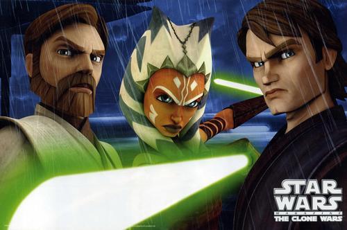 Obi-wan,Anakin,Ahsoka