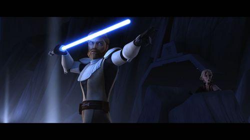 Obi-wan defending Satine!...Go Obi-wan!!