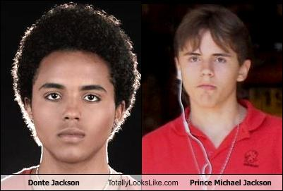 Prince Michael Jackson wallpaper with a portrait titled Omg Clones!!