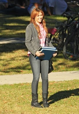So Undercover (2011) wallpaper possibly with a barrow called On set Pic # 3