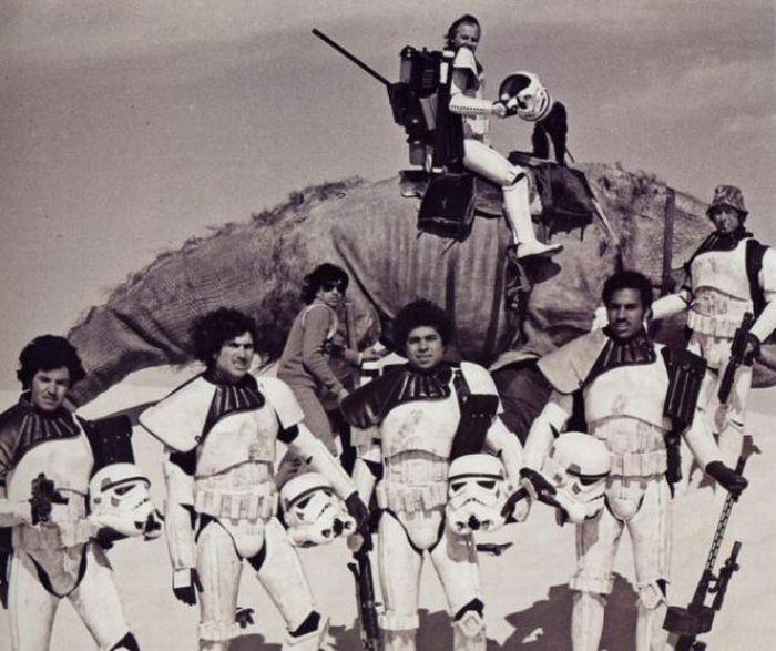 Original Trilogy Behind The Scene Star Wars Photo 25005048 Fanpop