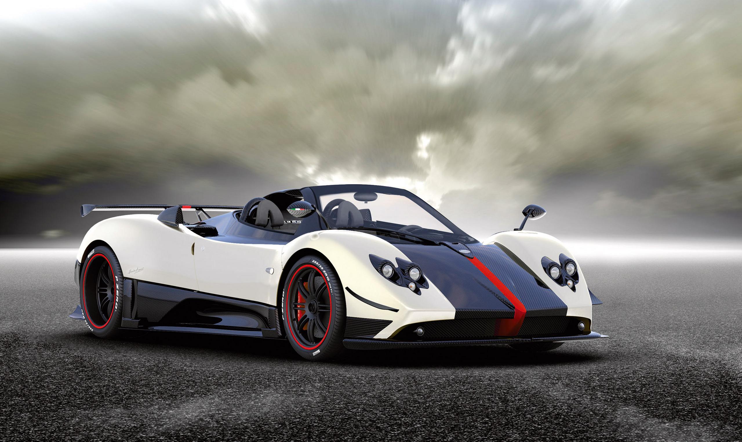 Exotic Cars Images Pagani Zonda Cinque Roadster Hd Wallpaper And