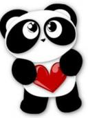Image result for Panda love icons