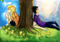 Percabeth - percy-jackson-vs-harry-potter fan art