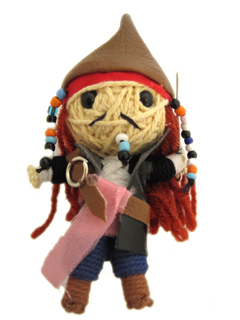 Pirate Captain - www.mystringdolls.com - keychains Photo
