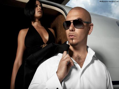 Pitbull (rapper) wallpaper containing sunglasses entitled Pitbull wallpaper