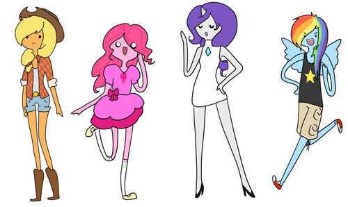 пони Girls Adventure Time Style