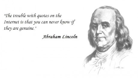 Quotation on the internet