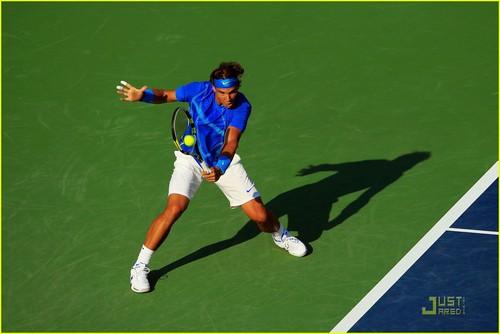 Rafael Nadal: Shirtless at the U.S. Open!