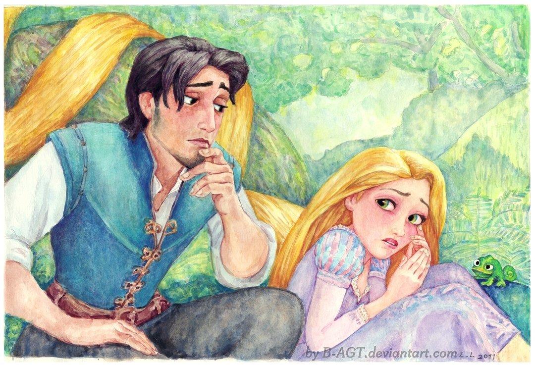Flynn Rider And Rapunzel Fan Art Rapunzel and Flynn - D...