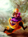 Rapunzel and Flynn - flynn-and-rapunzel fan art