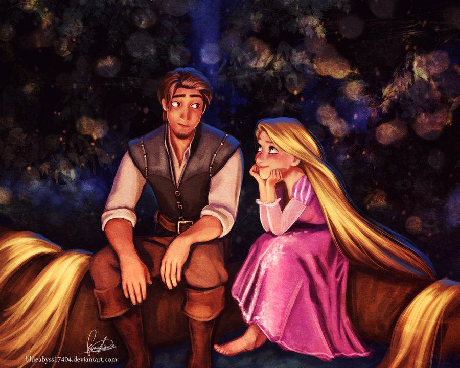 Flynn Rider And Rapunzel Fan Art Rapunzel and Flynn - F...