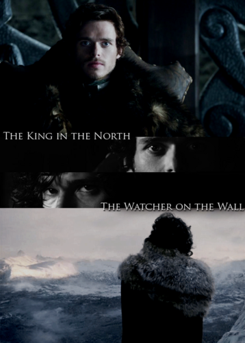 Jon Snow and Robb Stark wallpaper called Robb Stark and Jon Snow