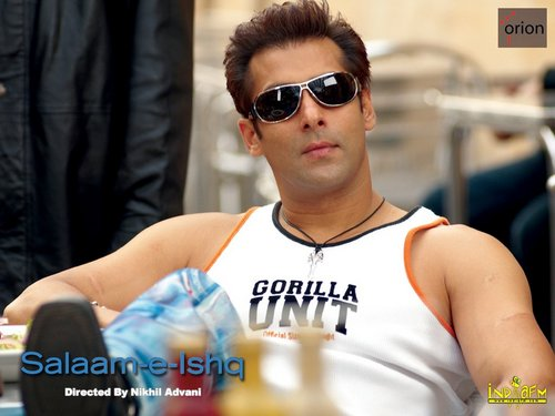 Salman Khan wallpaper containing sunglasses entitled SALMAN KHAN (HOT)