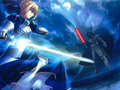Saber vs Darth - fate-zero photo