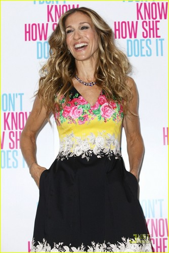 Sarah Jessica Parker: 'Don't Know How She Does It' in London!