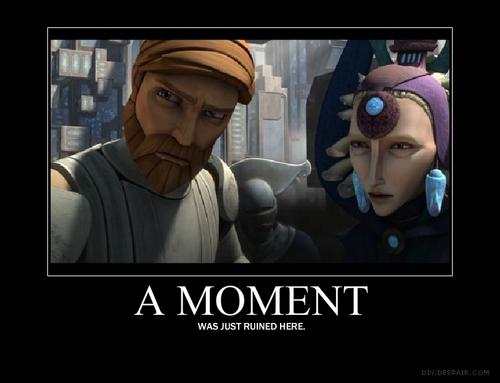 Satine and Obi-wan