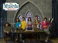 Season 4 Cast Wallpaper - wizards-of-waverly-place photo