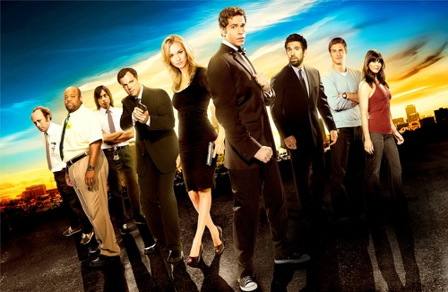 Season 5 Cast Promotional Poster (HQ) - chuck Photo