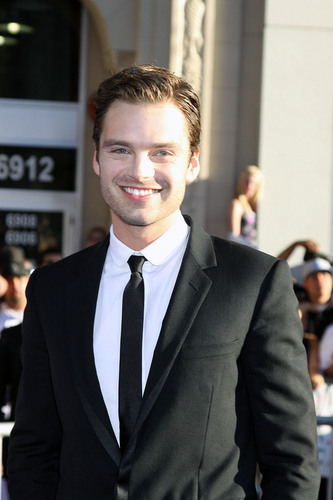 Sebastian stan @ Captain America - The First Avenger LA Premiere