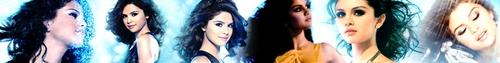 Selena Gomez banner for maritina12345