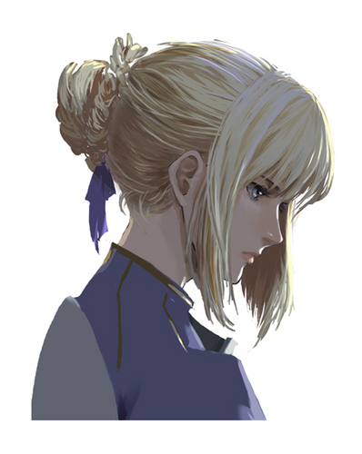 Servant Saber - fate-zero Fan Art