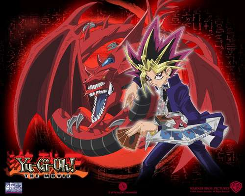 Yu-Gi-Oh fond d'écran possibly containing animé titled Slifer The Sky Dragon