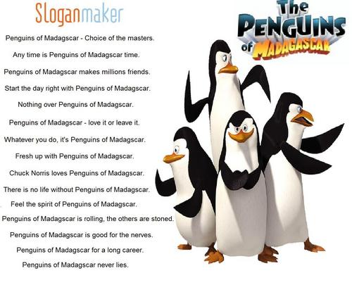 Slogans for The Penguins of Madagascar