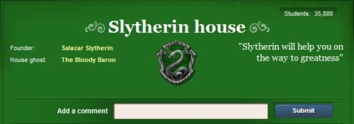 Pottermore Wallpaper Called Slytherins Common Room