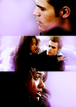 Stefan and bonnie - the-vampire-diaries-couples fan art