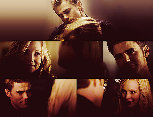 The Vampire Diaries Couples wallpaper titled Steroline
