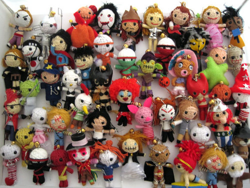 Keychains wallpaper called String Voodoo Doll Collection