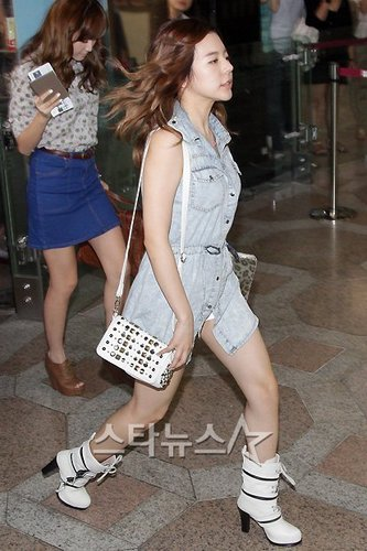 Sunny took off for Japan!