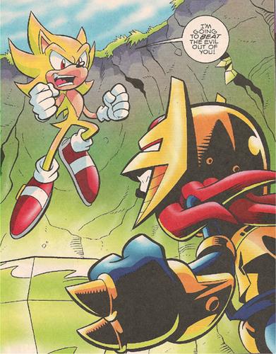 Super Sonic vs Enerjak