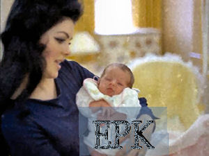 Sweet baby Lisa and Beauty & Young Priscilla - priscilla-presley-and-lisa-marie-presley Photo