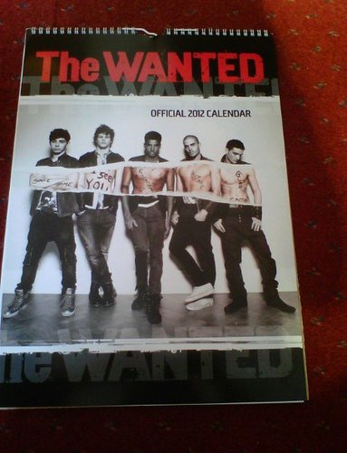 TW 2012 Calendar Front Cover! (I Will ALWAYS Support TW No Matter What :) 100% Real ♥