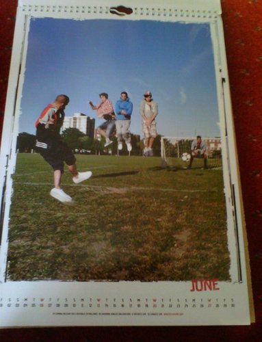 TW 2012 Calendar June! (I Will ALWAYS Support TW No Matter What :) 100% Real ♥  - the-wanted Photo
