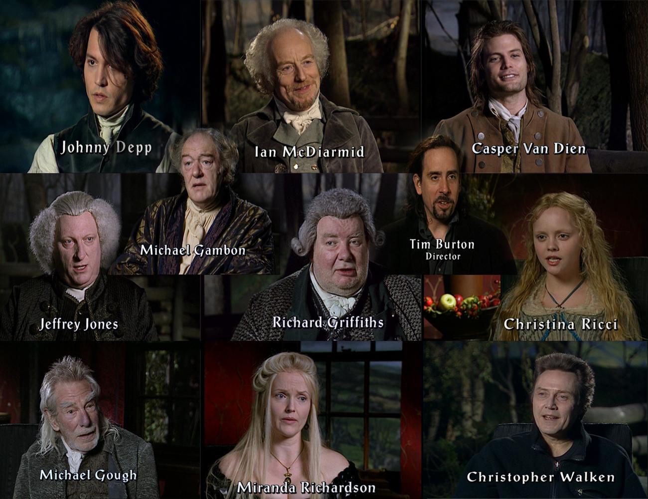 Sleepy Hollow Movie Cast Sleepy Hollow The Cast