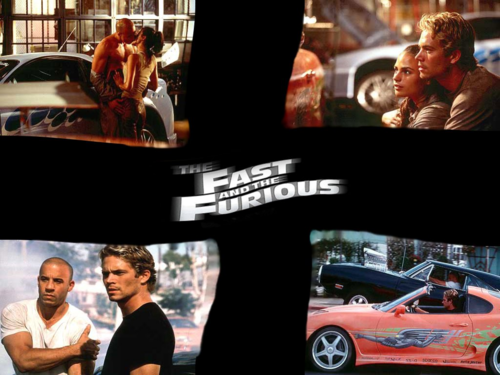 The Fast and the Furious wolpeyper