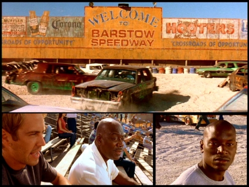 fast and furious wallpaper possibly containing a diner, a street, and an awning called The Fast and the Furious wallpaper