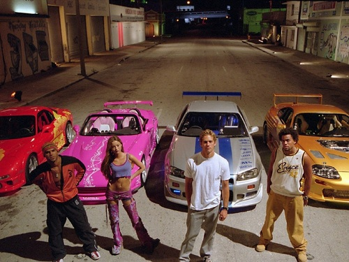 The Fast and the Furious 壁纸