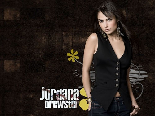 Jordana Brewster kertas dinding probably containing a hip boot and tights titled The Fast and the Furious kertas dinding