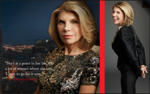 The Good Wife wallpaper possibly containing a business suit, a well dressed person, and a portrait entitled The Good Wife Special Diane || Season 3
