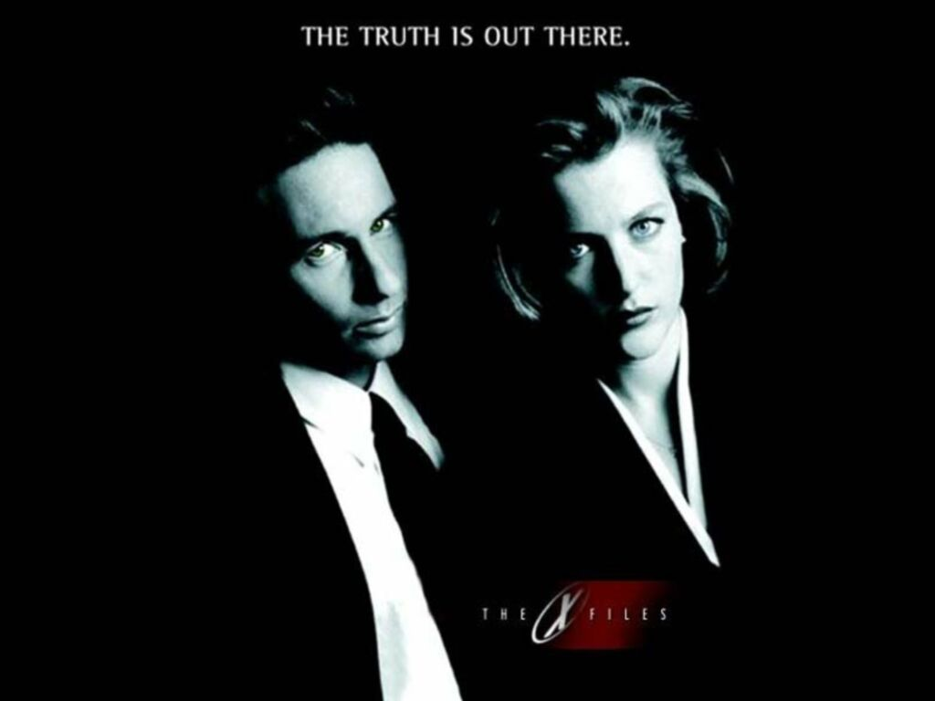 The X-Files - The X-Fi...X Files The Truth Is Out There Wallpaper