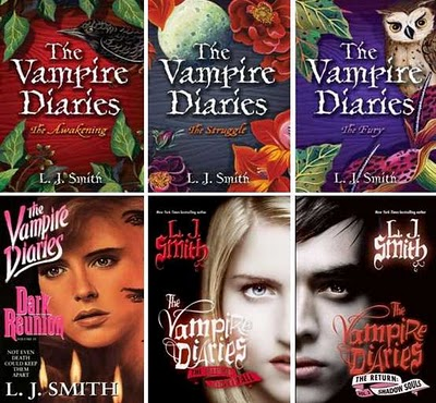Supernatural books images The vampire diaries books ...