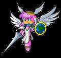 Valkyrie Julie-su - julie-su-the-echidna fan art