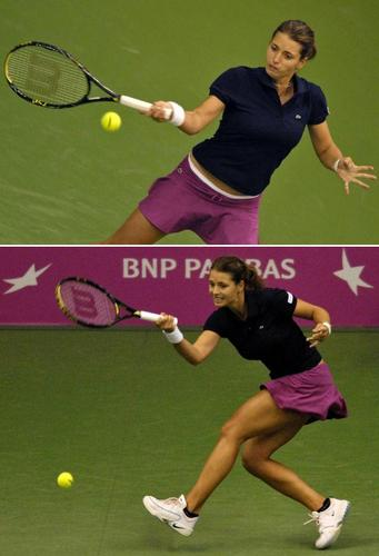 Petra Cetkovská in Tourney Color Coordinated