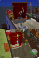 What real men do in the Shower - the-sims-2 screencap